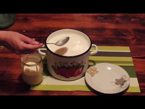Творог и Сметана из молока в домашних условиях