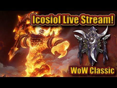 WoW Classic (Bank Alt, Fishing & Warrior Leveling)