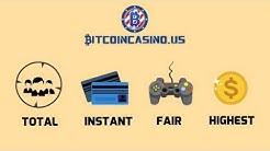 Bitcoin Gambling at BitcoinCasino.us - Slots, Dice, Blackjack, Roulette, Video Poker, Live Dealers