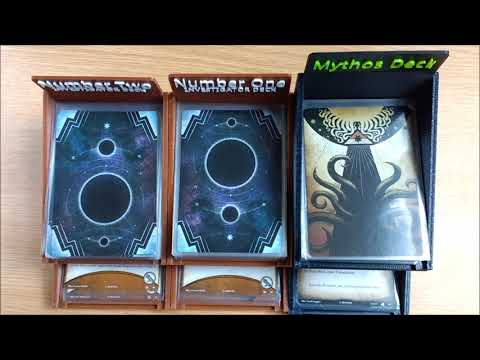 BoardGameXtras Vs Cthulhu II - Arkham Horror LCG Deck Boxes Overview