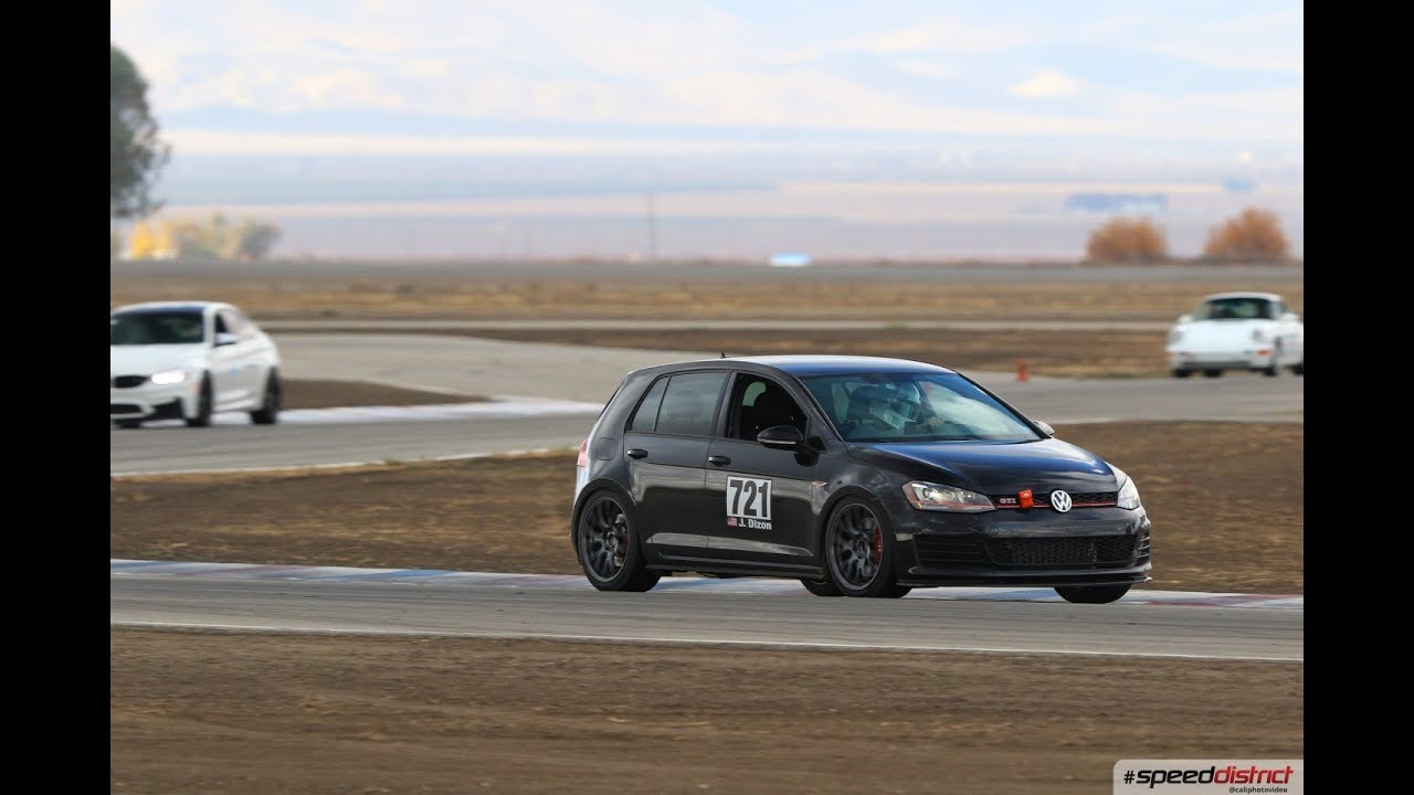 MK7 GTI at Buttonwillow