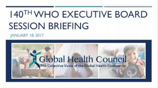 140th WHO Executive Board Session Briefing