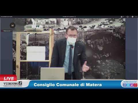 Consiglio Comunale di Matera 13 Maggio 2021Richies...