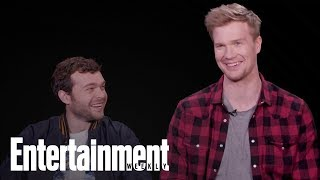 'Solo: A Star Wars Story' Lightning Round Questions With Alden Ehrenreich | Entertainment Weekly
