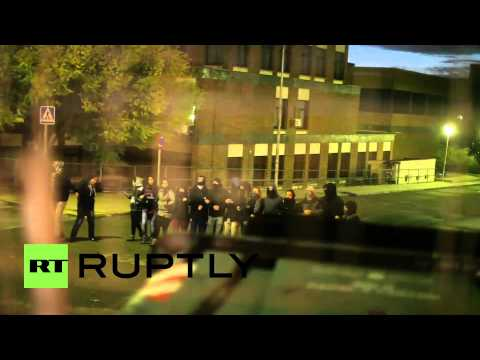 Spain: Students barricade the Complutense University during education protests