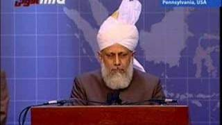 Khilafat Centenary - Jalsa Salana USA - Friday Sermon - 1/5