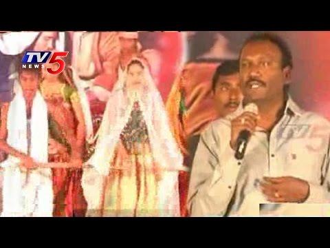 MLA Krishna Mohan in Christmas Celebrations : TV5 News