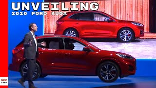 2020 Ford Kuga Plug in Hybrid ST Line Unveiling