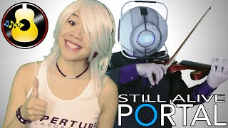 Portal - Still Alive feat. Lady Game Lyric (Vocals, Violin & Piano) || String Player Gamer