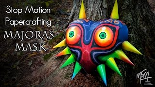 Stop Motion Papercrafting | Majora's Mask
