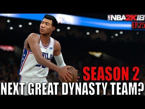 NEXT NBA DYNASTY TEAM!? NBA 2K18 MyCareer Ep.25
