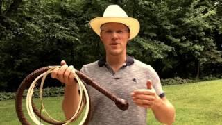 Cracking a 12 foot Bullwhip