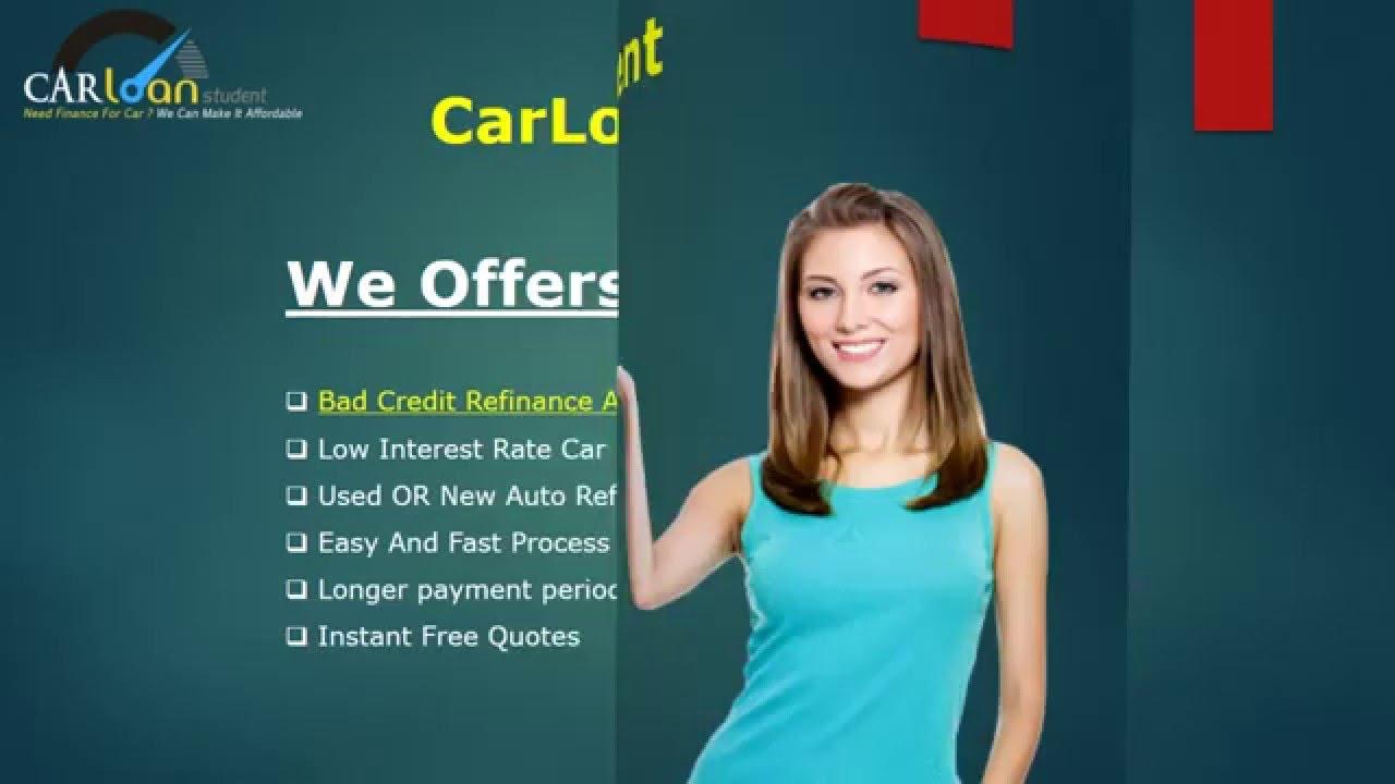 Refinance Car Loan With Bad Credit >> Bad Credit Auto Refinancing Loans Guaranteed Refinance Car Loan