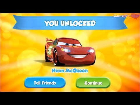 Cars: Fast As Lightning 62 - MCQUEEN - NEON - Paint Jobs Character Skin