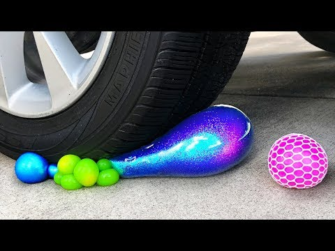 Crushing Crunchy & Soft Things by Car! - Floral Foam, Squishy, Tide Pods and More! thumbnail