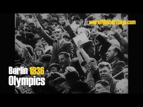Berlin 1936 - Olympics - Jesse Owens film footage 2