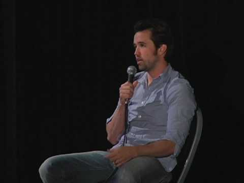 Rob McElhenney talks about 'Green Man' at UCLA