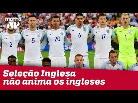 Ao Contrário De Brasileiros, Ingleses Não Ficam Animados Com Sua Seleção