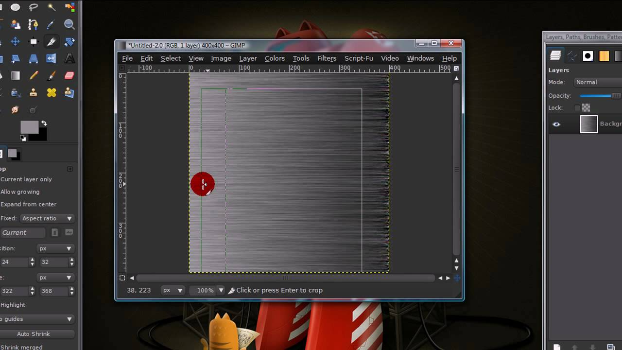 how to create 3d effect in gimp