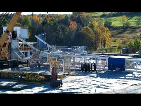 Natural Gas Activity Auburn Township 2008 - 2010