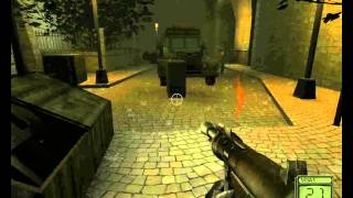 Soldier of Fortune 2: Double Helix Walkthrough Part 2 Prague Street