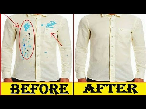 How To Remove Colour Stains From New Shirt घर पर नई शर ट