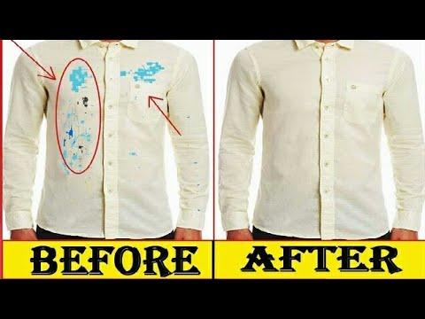 How to Remove Colour Stains From New Shirt-घर पर नई शर्ट से रंग दाग कैसे  निकालें ff68c3359