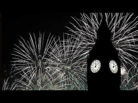 Feuerwerk und Musik: Silvesterfeiern in Berlin, London und andernorts