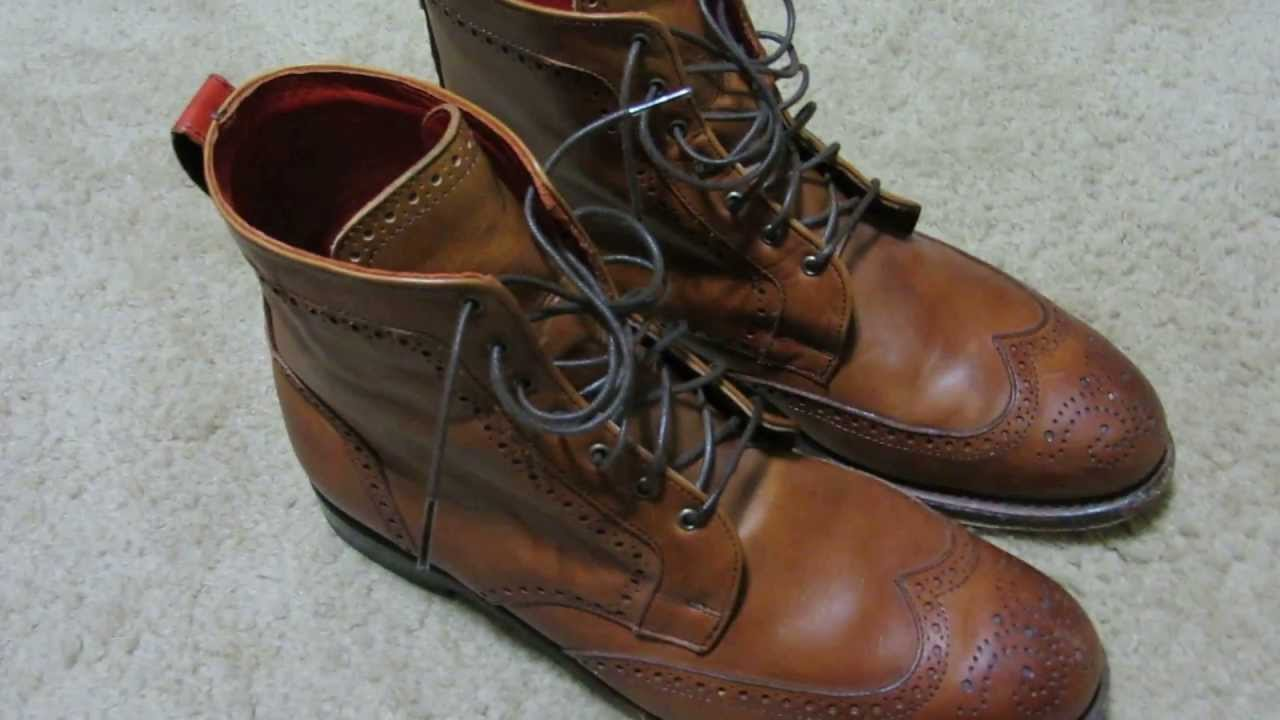 2b836b0eeee3 Allen Edmonds Dalton Dress Boot Shoe Review - 1 year later - YouTube