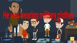 He was wearing Military Clothes-Scary Story (Animated in Hindi) |IamRocker|