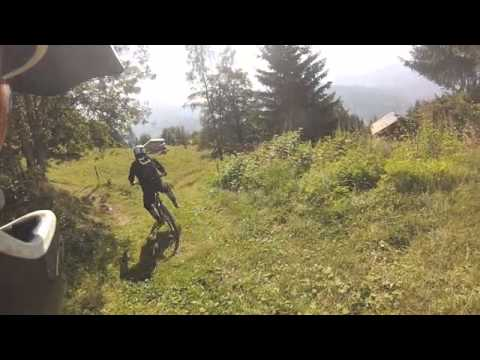 Parion to St Gervais, Enduro Red, RTMTB