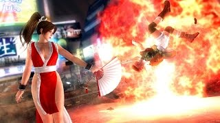 DEAD OR ALIVE 5 LAST ROUND (XB1) MAI SHIRANUI GAMEPLAY
