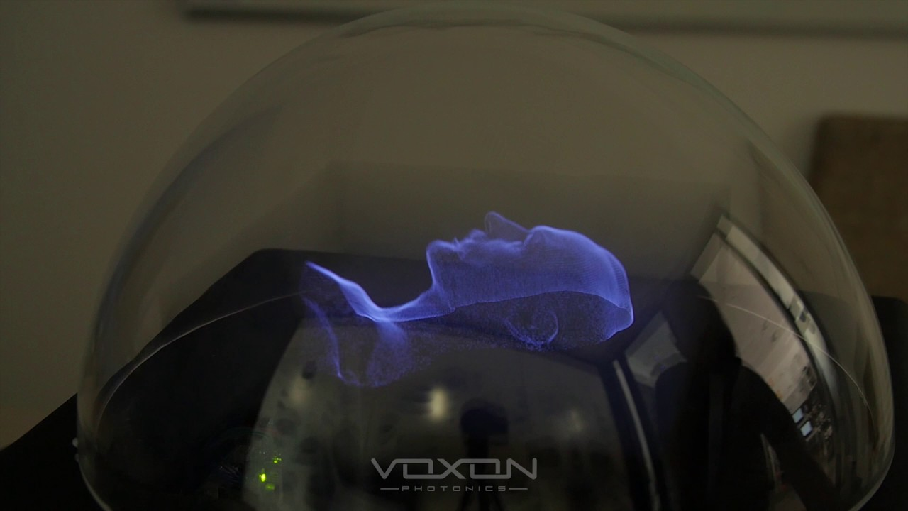 Homepage - Voxon Photonics