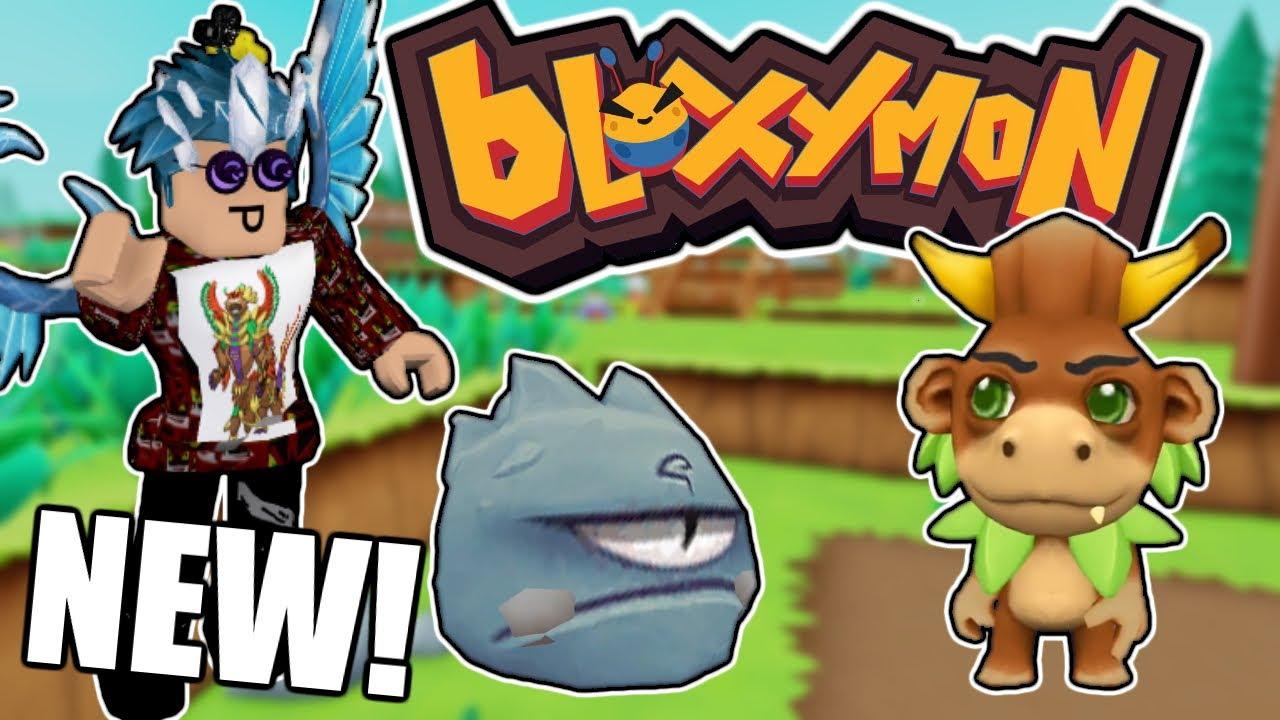 NEW POKEMON-BASED GAME ON ROBLOX! - Bloxymon