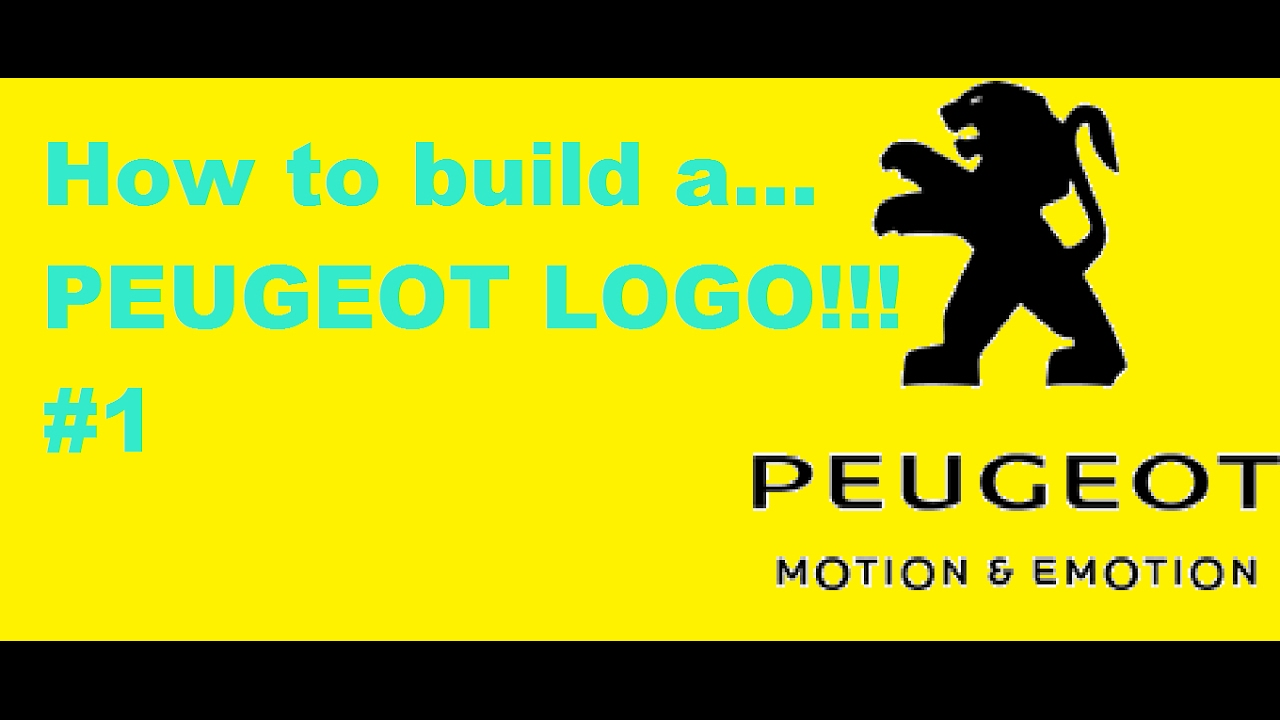 Minecraft Pixel Art Tutorial How To Make The Peugeot Logo Youtube
