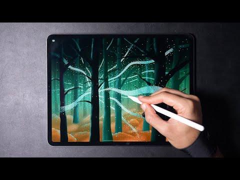 Magic Forest | IPad Pro Art