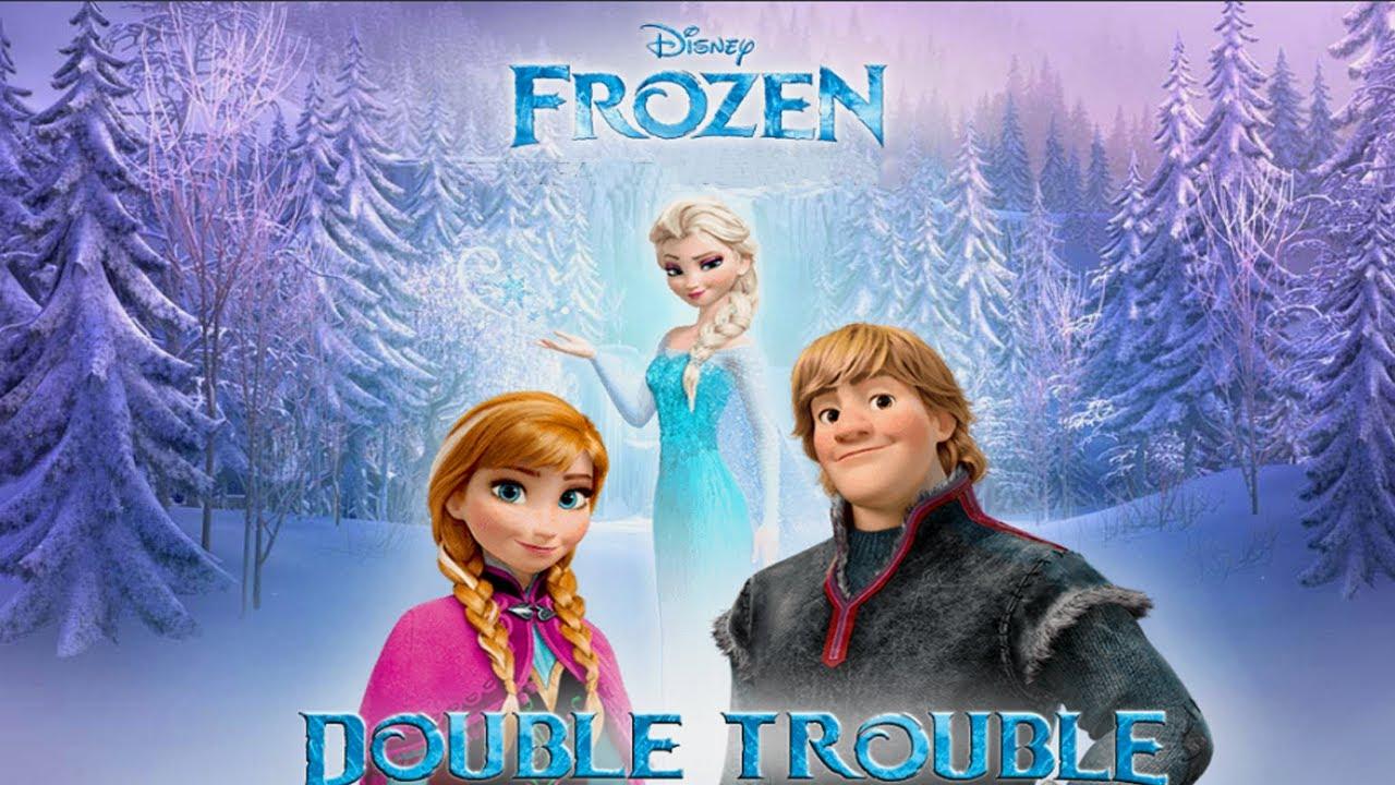 Disney Frozen New Movie Double Trouble New Disney