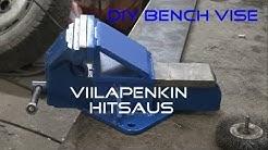 DIY Bench Vise / Viilapenkin hitsaus