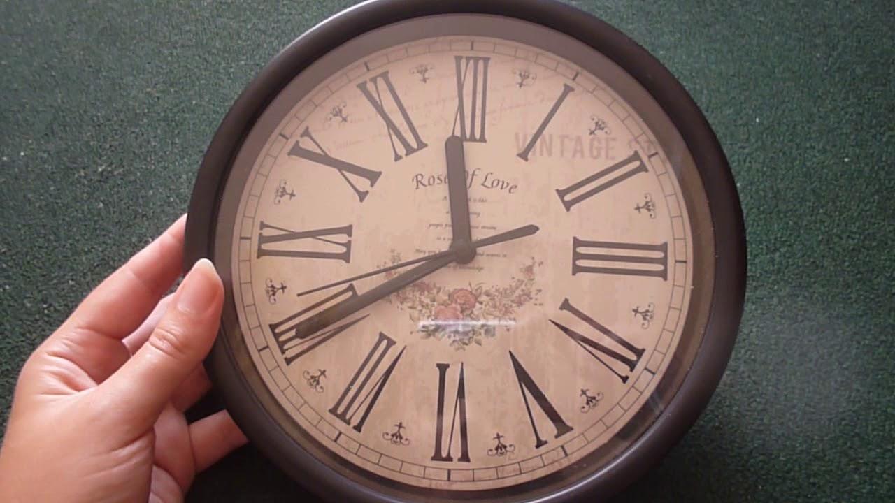 Часы настенные Umbra Perftime - YouTube