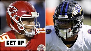 Are the Chiefs or Ravens the best team in the AFC? | Get Up
