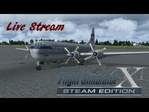 Drako0411 Live stream FSX flying with Monkeys HLLB (Benghazi) to HECA Cairo)