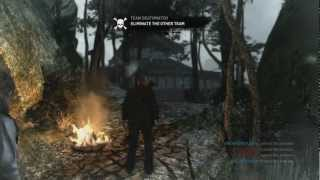 Tomb Raider Multiplayer Gameplay Online - Launch Night Team Deathmatch Gameplay (Xbox 360/PS3/PC HD)