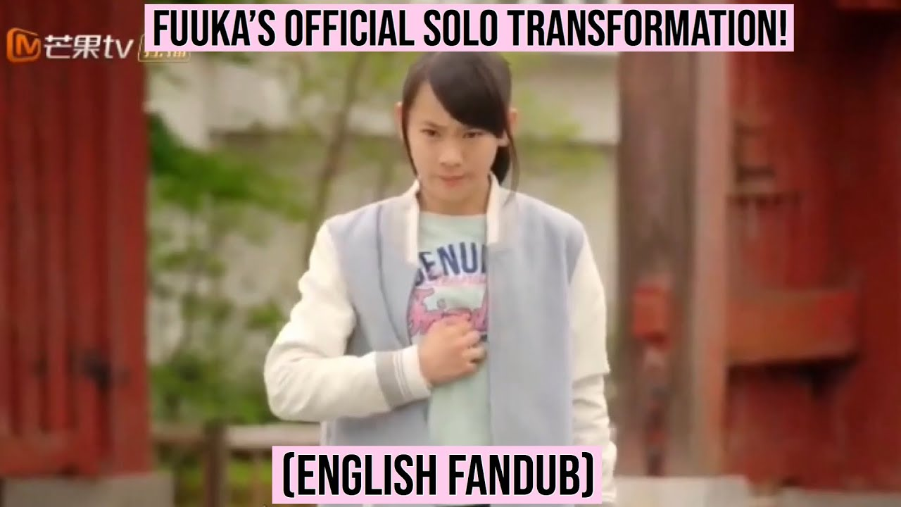 Idol x Warrior Miracle Tunes| Fuuka's Solo Transformation (English Fandub)