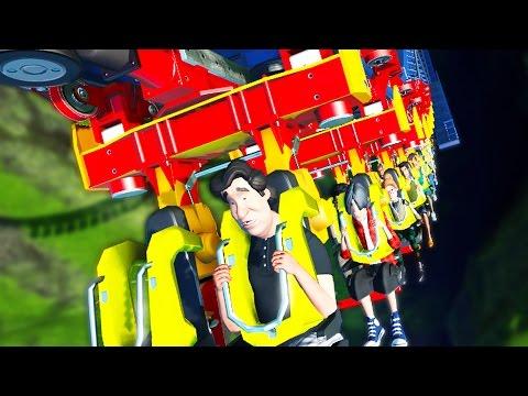 UPSIDE DOWN COASTER | Planet Coaster #7