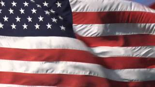 US National Anthem(Star Spangled Banner)With Flag Blowing (INSTRUMENTAL)