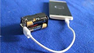 Как сделать внешнюю батарею | дешевый и простой