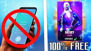 "How to Get ""GALAXY SKIN"" for 100% FREE! *NO PHONE NEEDED* - FREE GALAXY SKIN in FORTNITE"