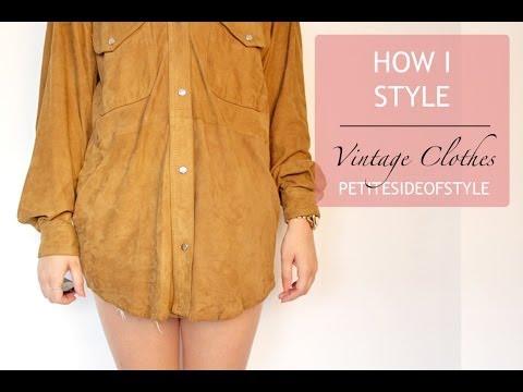 How I Style Vintage clothing