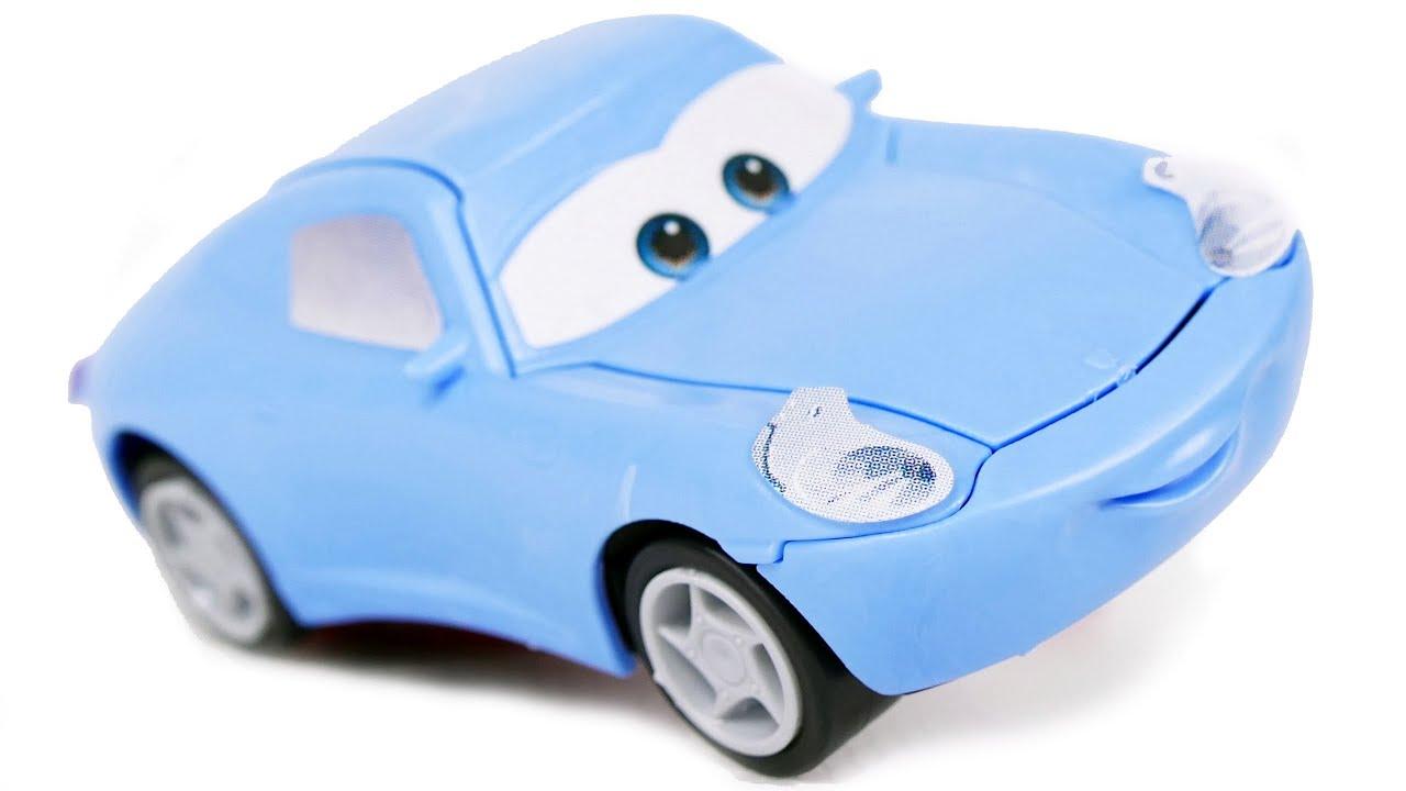 cars for kids sally model kit zvezda car from disney pixar cartoon cars toys