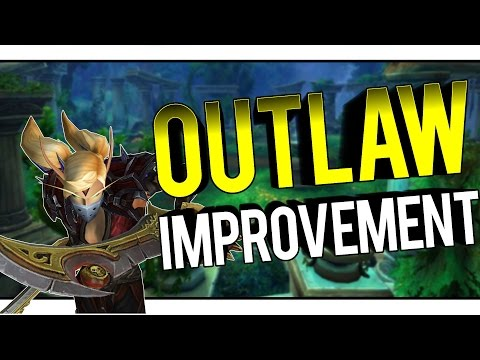 IMPROVING AS OUTLAW IN PVP - Outlaw Rogue PvP WoW Legion 7.1